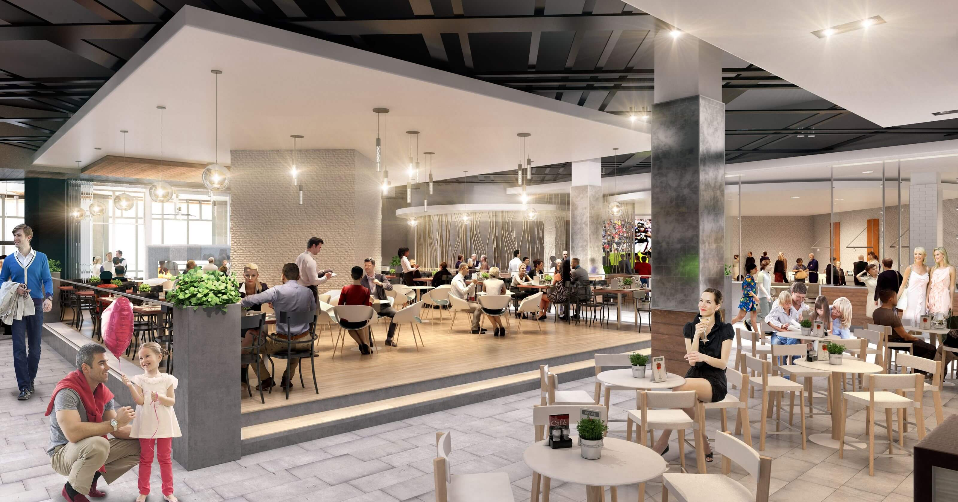 Admiral Real Estate White Plains Retail The Westchester Mall Savor Westchester  New Food Concept Rendering