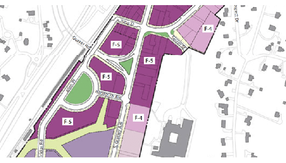 Development Sites - Chappaqua Proposed Form Based Downtown District
