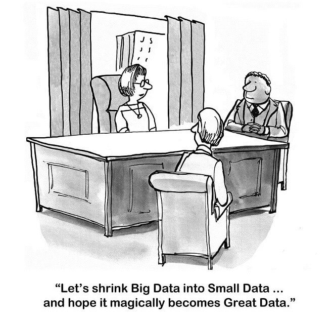 Admiral Real Estate - Big Data Cartoon