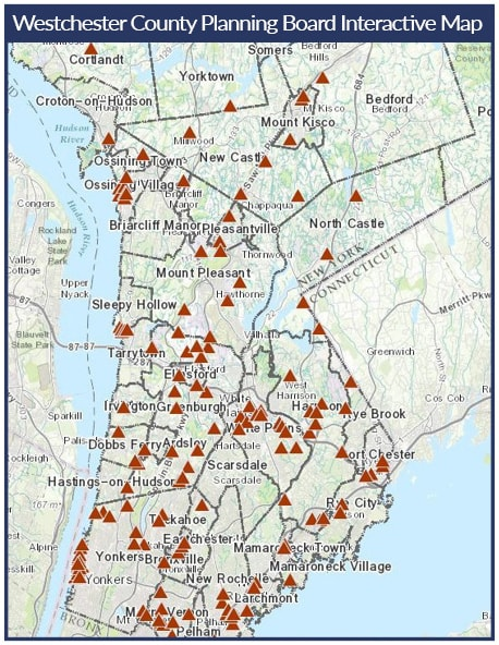 Interactive Map of Development Projects in Westchester