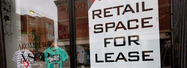 Retail Leasing - Space for Lease Sign
