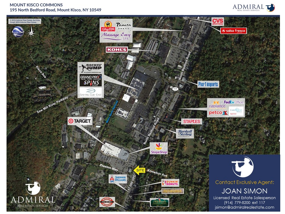 Mount Kisco Commons End Cap 195 North Bedford Road