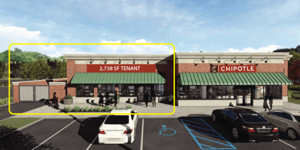 Admiral Real Estate - Mount Kisco Commons, 195 North Bedford Road, Mount Kisco - Restaurant Retail Food Use