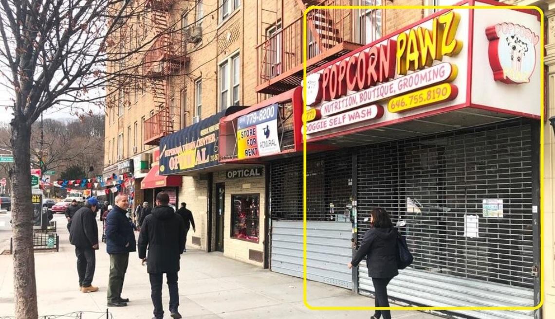 Admiral Real Estate - 4771 Broadway New York Inwood Manhattan Retail Office Restaurant